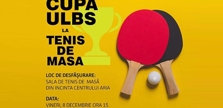 Cupa ULBS la Tenis de Masă
