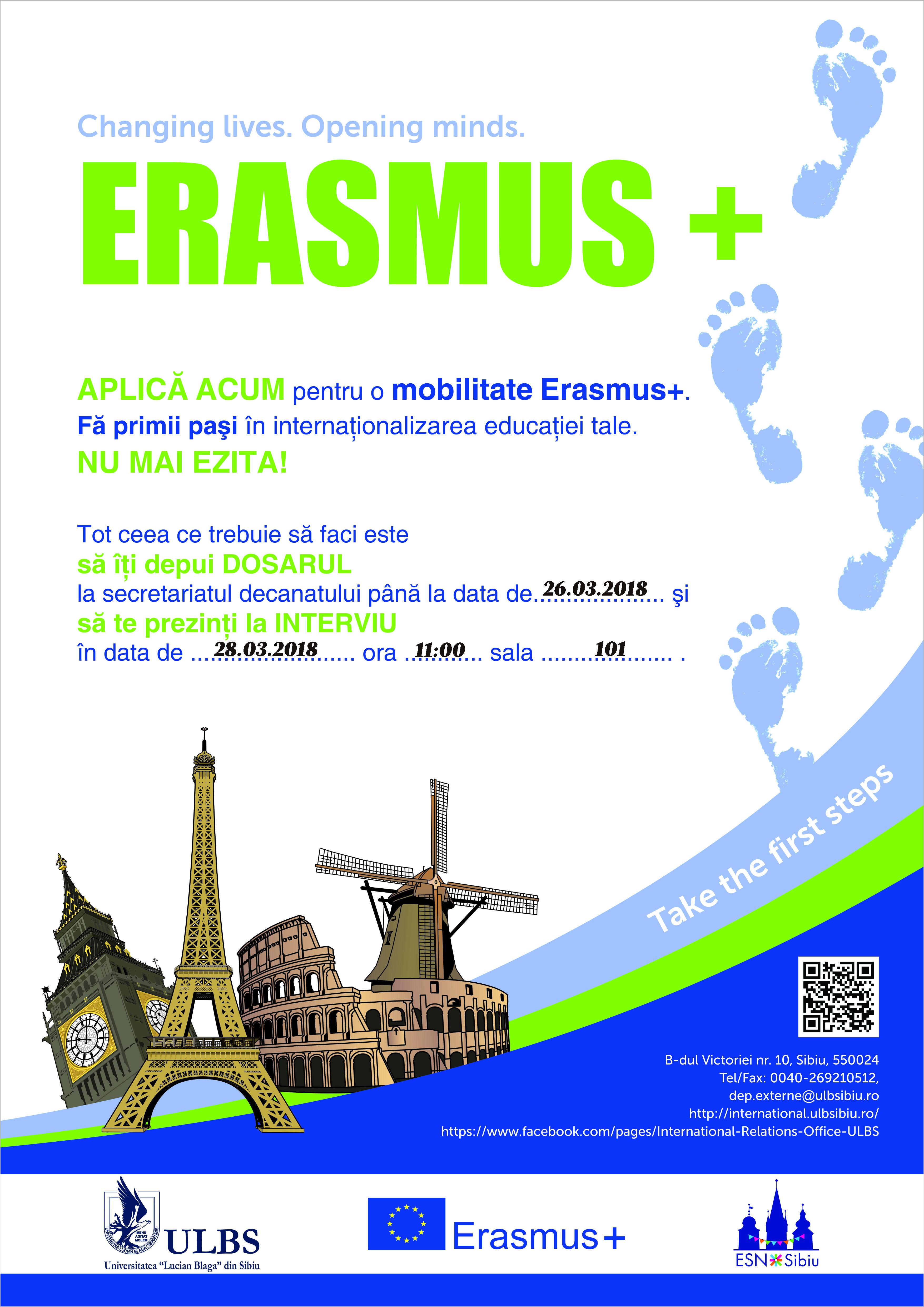 Mobilitati destudiuErasmus+