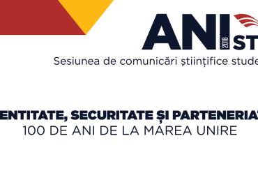 Sesiunea de comunicări științifice studențești ANISTUD, ediția 2018