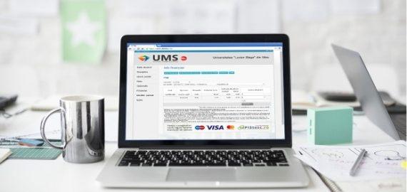 Plata online prin UMS