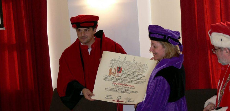 Discurs HONORIS CAUSA – profesor ANGELIKA NUSSBERGER