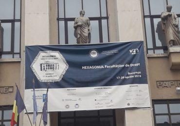 Hexagonul Facultăţilor de Drept – București, 2019