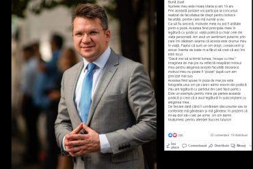 CONCURS – MOTIVAȚIA (TA) DE A ALEGE DREPT-UL!