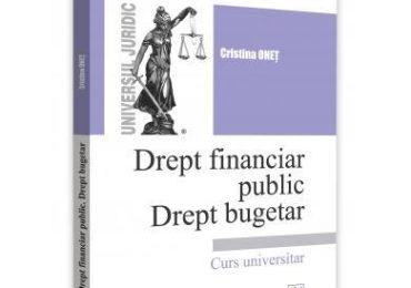 Drept financiar public. Drept bugetar