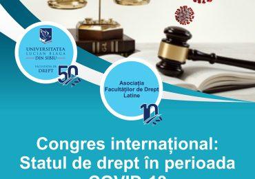Congres international, 6-7 mai 2021
