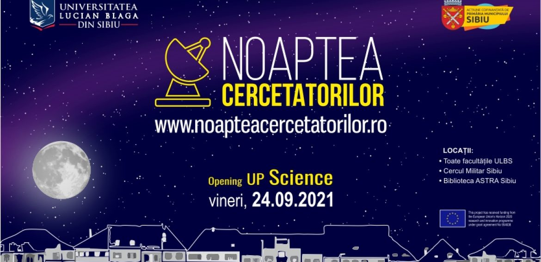 Noaptea Cercetatorilor 2021