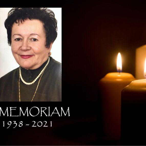 In memoriam  – Profesor Doina Petică-Roman